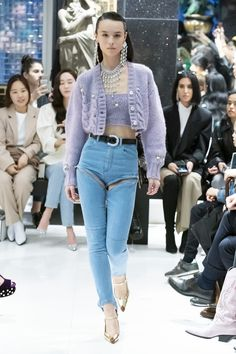 Alessandra Rich Fall 2019 Fashion Show . Designer ready-to-wear looks from Fall 2019 runway shows from Paris Fashion Week Women's Fashion Dresses, Diy Fashion, Runway Fashion, Ideias Fashion, Fashion Show, Autumn Fashion, Womens Fashion, Fashion Trends, Fashion Stores