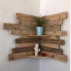 Rustic Corner Shelf, Wood Corner Shelves, Corner Bookshelves, Wooden Wall Shelves, Rustic Shelves, Plant Shelves, Display Shelves, Floating Shelves, Wood Shelf