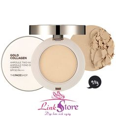 Phấn Gold Collagen Ampoule Two-way Pact The Face Shop http://www.linkstore.vn/phan-gold-collagen-ampoule-two-way-pact-the-face-shop-sp466