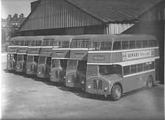 Front engined FP Type Foden Buses Warrington Corporation