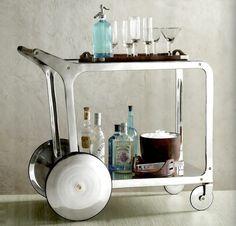 PARTY ON WHEELS: 12 Favorite Bar Carts & Trolleys