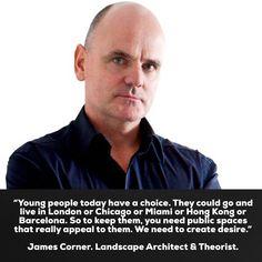 #REALvoz #JamesCorner Landscape #Architect #Theorist  #ConectandoEstiloDeVida  #ANGELICABehm #MiamiLovers