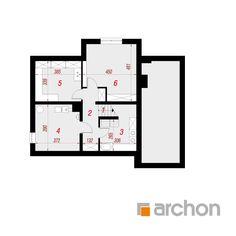 Dom pod liczi 5 (P) Cottage Plan, Design Case, Modern House Design, Traditional House, Planer, Bungalow, Villa, Floor Plans, Houses