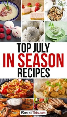 Cooking Tips Podcasts | Welcome to CTFM 25 & July Foods In Season Recipes from RecipeThis.com