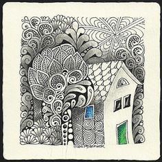 Enthusiastic Artist: A few more 'house tiles'