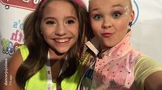 Jojo and kenzie at jojos party it was adorable