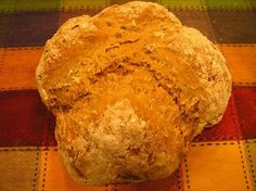 Brown Oatmeal Soda Bread
