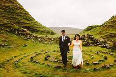 Wild Eye Skye Island - Castle of Donan wedding: vows here in June.