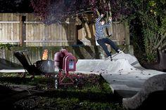 skate home circuit in the garden