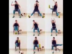 Quiet and Quick SEATED CARDIO HIIT | High Heart Rate Workout with a CHAIR - YouTube