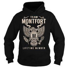 Team MONTFORT Lifetime Member - Last Name, Surname T-Shirt