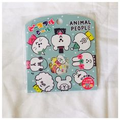 NEW japan MIND WAVE Sticker flakes animals peaceful seal series  #flakestickers