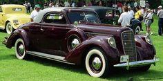 1939 Lincoln K Lebaron coupe