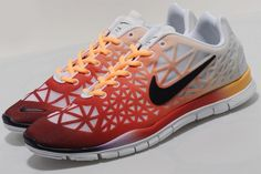 """The Nike WMNS Free TR Fit 3 """"Sunset"""" is available at shops including UK-based Size?."""