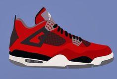 Jordans illastrastion | illustrations Air Jordan | 0⃣6⃣SNKRS.PICTURES.ARTS | Pinterest