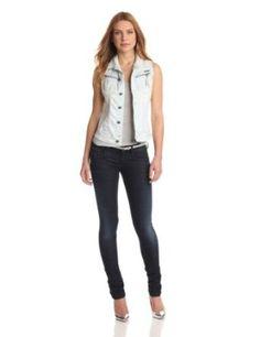 G-Star Raw Women's Fender Sleeveless Denim Jacket Comfort Quartz New Outfits, Summer Outfits, Sleeveless Denim Jackets, Fashion Over 40, Outerwear Women, Fasion, Women Accessories, Star, Womens Fashion