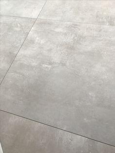 Porcelaingres Betonlook vloertegels 75x75 cm