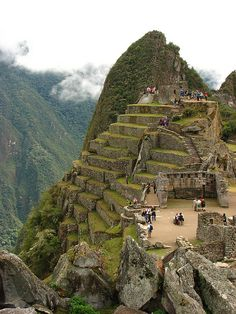 It's a beautiful world Machu Picchu Peru (by Sparky the Neon Cat) Places Around The World, Oh The Places You'll Go, Places To Travel, Places To Visit, Machu Picchu, Huayna Picchu, Chile, Bolivia, Beautiful World