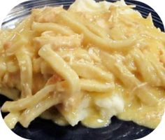 Crock-Pot Chicken and Noodles