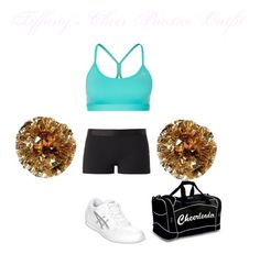 Tiffany Wellings's Cheer Practice Outfit by elizabethcooke on Polyvore featuring polyvore fashion style Monreal Reebok Asics
