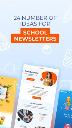 As summer winds down, prep time for the busy year ahead comes ever nearer. Before you know it, it's time to start getting back into touch with teachers, parents, and students. Get a head start on the school season by developing an engaging school newsletter to connect with your community. Read more on our blog. Never Stop Learning, Email Design, Community Manager, Head Start, Online Courses, Read More, Knowing You, Back To School, Connect