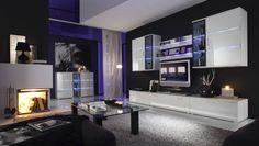 Meuble Blanc Laque Tv