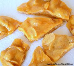 Echoes of Laughter: Easy Homeade Peanut Brittle For Father's Day {Gift Idea}