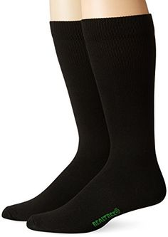 REALTREE Mens Liner Socks Pack 2 Pair Black Large *** You can find more details by visiting the image link.Note:It is affiliate link to Amazon.