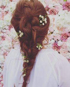 Pretty bridal braid - bridal hair
