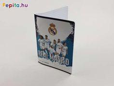Egy ilyen szuper mintával ellátott füzet segítségével, az idegen nyelv tanulása még gyorsabb, vidámabb és szórakoztatóbb lesz!     Jellemzői:  - A/5  - 31-32  - Szótár füzet  - Real Madrid minta Real Madrid, Minion, Minions