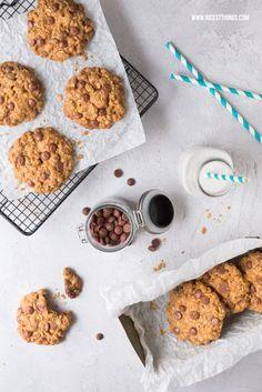 Chocolate Chip Cookies, gesund und vegan