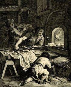 'The Baker - Venice, Italy' by Giovani Volpato after Francesco Maggiotto, 1760-70