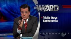 Ted Turner recently claimed that global warming will force people to go cannibal, and last night Stephen Colbert took a look at the economics of such a society. The rich will buy poor children to. Modest Proposal, Jonathan Swift, Stephen Colbert, Poor Children, Global Warming, Nonfiction, Ted, Take That, People