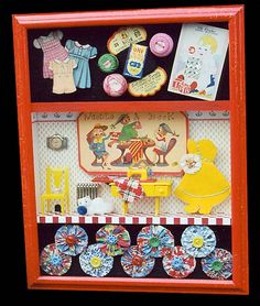 Another cute shadow box by Karen Silver Bloom.