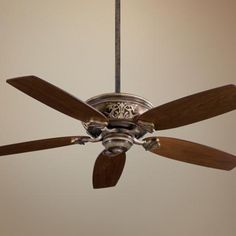 "54"" Minka Aire Classica Patina Iron Finish Ceiling Fan - #N2405 | LampsPlus.com"
