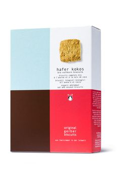 simple cracker packaging design