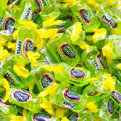 buy bulk candy by color or flavor. green apple jolly ranchers, banana laffy taffy, red skittles, pink starbursts, blue raspberry dum dums or airheads or gummy bears. Candy Store, Bulk Candy, Hard Candy, Candy Brands, Chewy Candy, Green Candy, Taste Made, Bulk Food, Apple Fruit