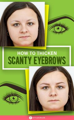 Eyebrows offer beauty to the face, especially to the eyes. If you have scanty eyebrows and don't want to go for any surgical methods, here are the natural ways that will help How To Do Eyebrows, Thick Eyebrows, Eyebrows Step By Step, Light Eye Makeup, Eyebrow Makeup Tips, Beauty Makeup, At Home Face Mask, How To Get Thick, Best Eyebrow Products