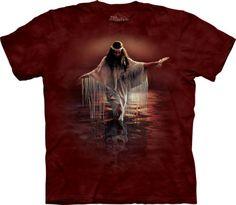 Golden-Reflections-Adult-Native-USA-Mountain-Unisex-T-Shirt