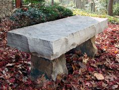 Hammerhead Stoneworks Designs And Builds Natural Stone Benches In  Asheville, NC And Throughout The Southeast.