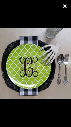 We are loving the way this initial is being used! #initial #monogram #halloween #cuttincrazy www.etsy.com/shop/cuttincrazy