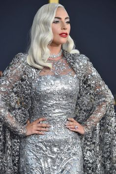 Lady Gaga is breathtaking in her outfit for the premiere of A Star Is Born.
