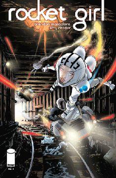 Comic Review: Rocket Girl #4  (Image Comics)