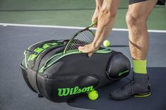 5a38d996284f Finding The Comfortable Tennis Racquet Bag
