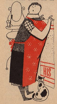 Humpty Dumpty Magazine Illustration 1960's