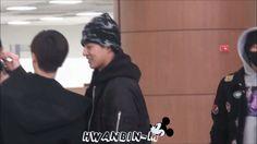 #iKON #BinHwan HanBin always takes care his beloved hyung.