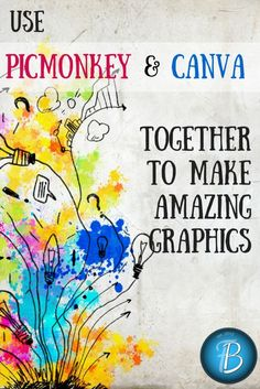 If you're looking for an easy and {mostly} free way to make graphics and edit photos, Canva and PicMonkey are the two websites you need to bookmark right now. They are both fantastic for all sorts of online and paper projects, not to mention web design elements. Today, I'm going to go through some of the similarities and differences, plus ways you can use them in tandem to create great graphics for your blog!