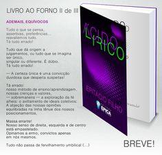 Blog do Epitácio Filho: LIVRO AO FORNO II de III