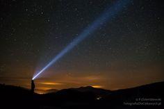 Z nocnej sesji fotograficznej w Bieszczadach