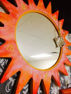 Fun sun - $36. Eclectic Mirrors, Gift Store, Enchanted, Sun, Gifts, Home Decor, Presents, Decoration Home, Room Decor